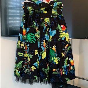 Marc Jacobs midi skirt Hawaiian print